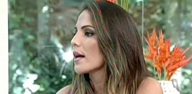 13.03.2013 - Anamara não acredita que dicussão com Fernanda foi motivo de eliminação e aposta em Fani como campeã do