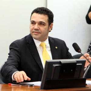 O deputado Marco Feliciano (PSC-SP) preside sua primeira reunião na Comissão de Direitos Humanos da Câmara, no último dia 13 - Antônio Araújo/UOL