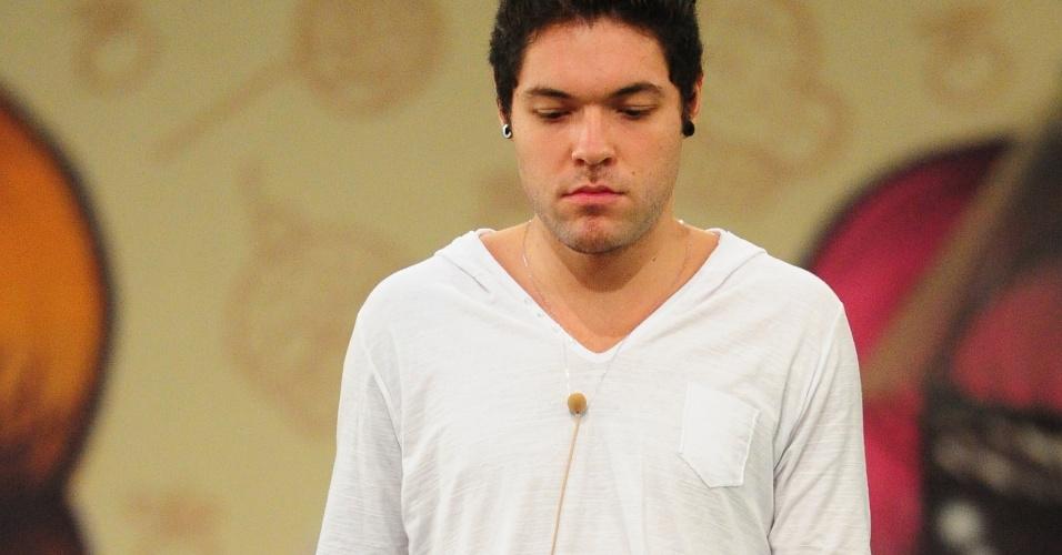 7.mar.2013 - Nasser fica de olho nos obstáculos que tem de evitar