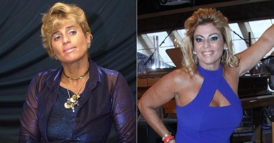 """Cida Moraes participou do """"BBB2"""" e hoje, com cabelos mais longos, apresenta um programa em um canal pago do Rio de Janeiro"""