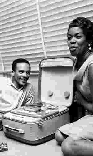 """""""Misty"""", Sarah Vaughan (1958) - Quincy produziu e fez os arranjos orquestrais desse clássico do jazz - Reprodução/Jean-Pierre Leloir"""