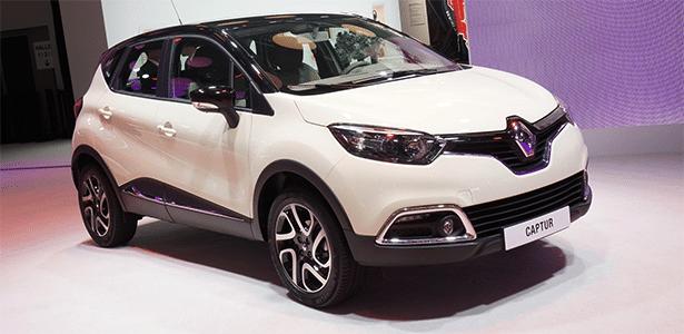 Renault Captur: exterior do crossover baseado no Clio IV é personalizável, e cabine pode ter tablet  - Newspress