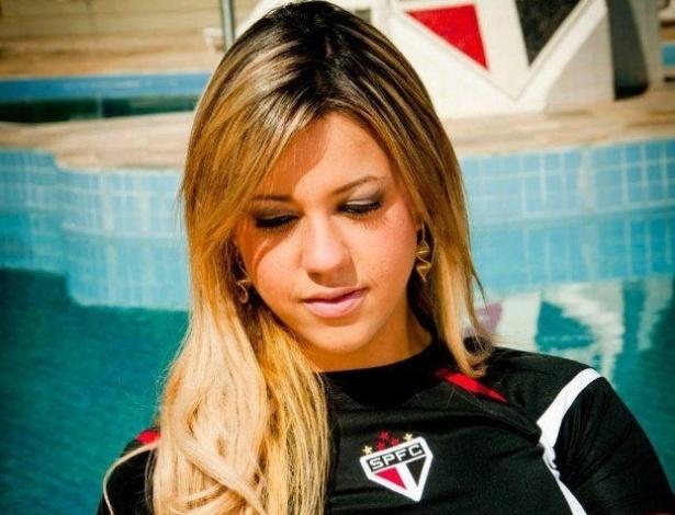 Samanta Collor vai representar o São Paulo no Belas da Torcida 2013