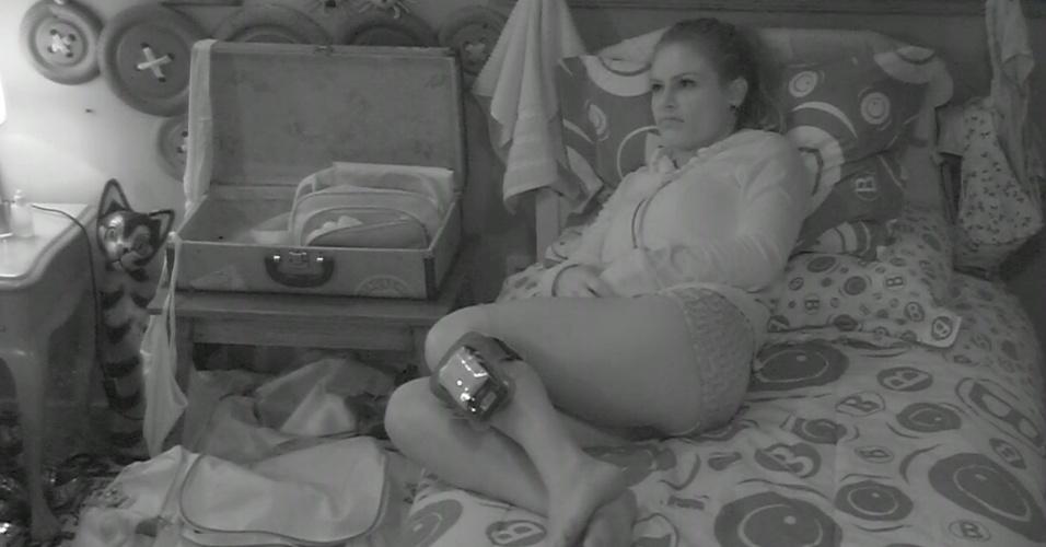 14.mar.2013 - Natália e Fani acreditam que disputa entre André e Andressa será longa e acirrada