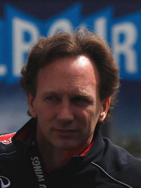 15.mar.2013 - Chefe da favorita Red Bull, Christian Horner chega ao autódromo de Albert Park, em Melbourne - REUTERS/Daniel Munoz