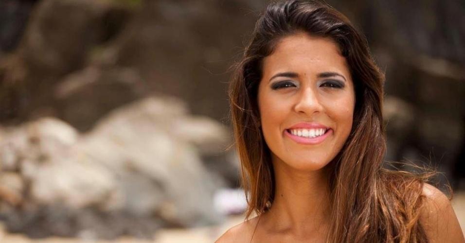 Daniele Rodrigues se inscreveu para representar o Avaí no Belas da Torcida 2013
