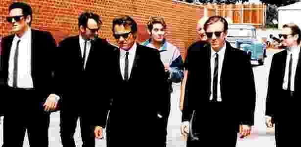 """O terno preto é um dos clássicos do cinema, tendo integrado o figurino de filmes como """"Cães de Aluguel"""" (1992), de Quentin Tarantino - Divulgação"""