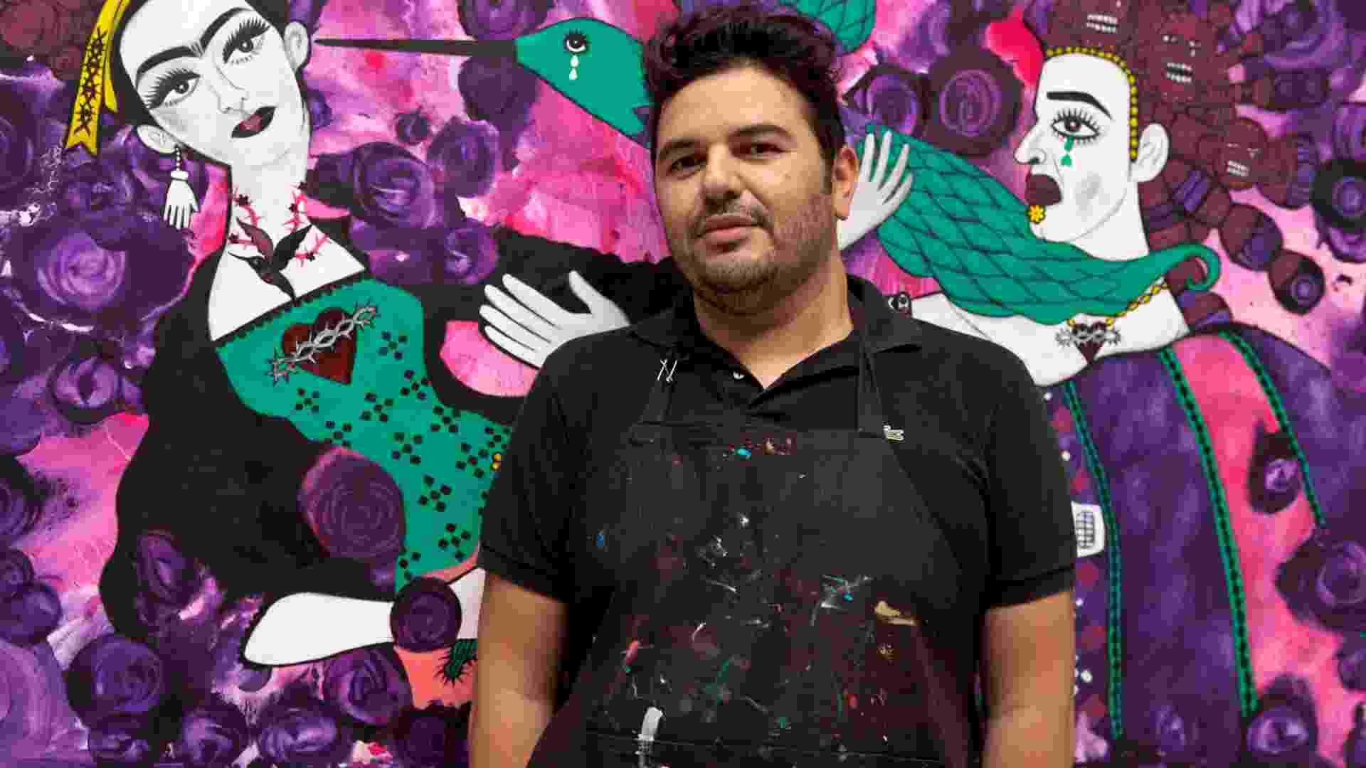 Rogério Fernandes, 43 anos, artista plástico - Carol Salgado/Divulgação