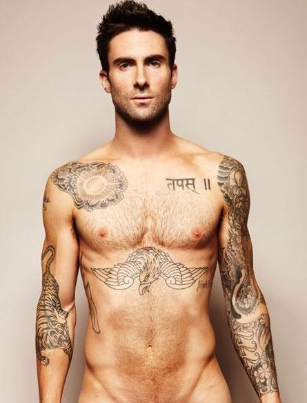 Tatuagem de Adam Levine