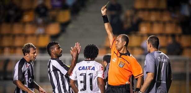 Marcelo Aparecido Ribeiro de Souza será árbitro do jogo do Palmeiras