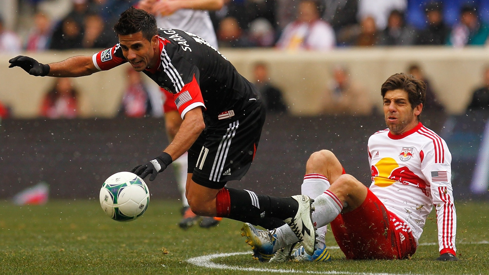 Juninho Pernambucano, ex-Vasco, entrou durante o jogo do New York Red Bulls, que neste sábado ficou no 0 a 0 com o DC United na MLS