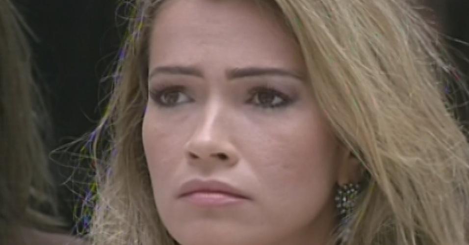 """17.mar.2013 - Fani é a décima primeira eliminada do """"BBB13"""", com 68% dos votos"""