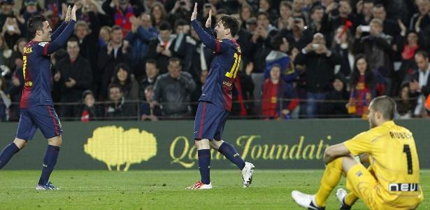 O Rayo Vallecano não conseguiu parar o ataque do Barcelona, que venceu por 3 a 1