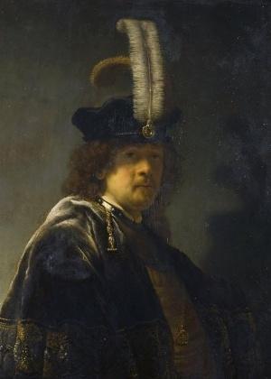 Autorretrato do pintor holandês Rembrandt com um valor estimado em US$ 30,1 milhões - EFE