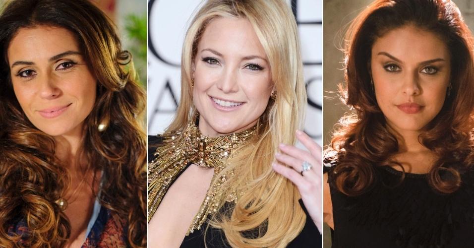 Giovanna Antonelli, Kate Hudson, Blake Lively e Paloma Bernardi: cores do outono