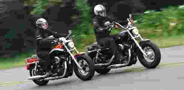 Harley-Davidson 1200 Custom CA e Custom CB compartilham o mesmo motor, câmbio e correia dentada - Mario Villaescusa/Infomoto