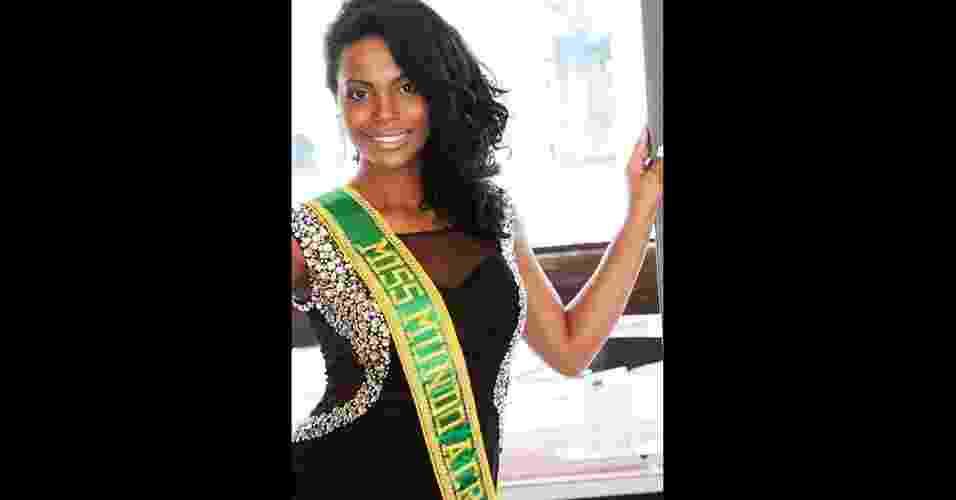 Miss Acre World, Vanêssa Guimarães, 25 - Divulgação