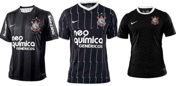 e563195119 Corinthians voltará a usar camisa listrada em preto e branco neste ...