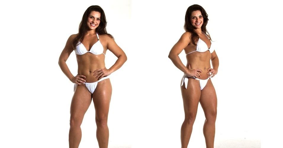 19.mar.2013 - Esta é Carolina, 33 anos, personal trainer
