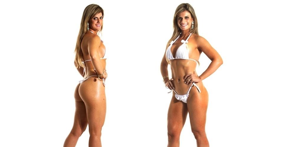 19.mar.2013 - Esta é Denise, 26 anos, personal trainer