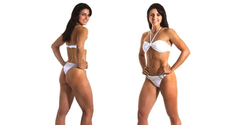 19.mar.2013 - Esta é Gláucia, 26 anos, personal trainer