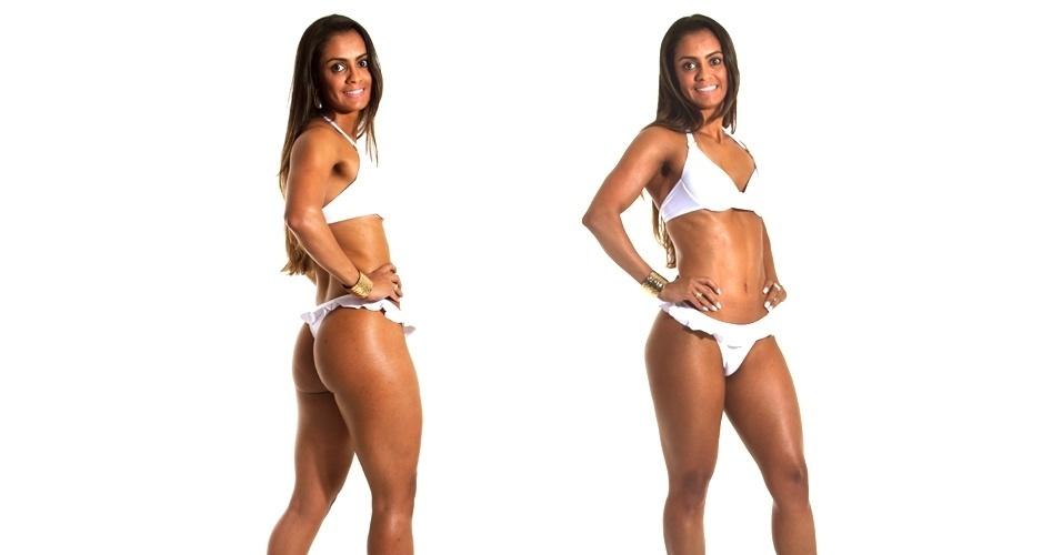 19.mar.2013 - Esta é Karina, 27 anos, nutricionista