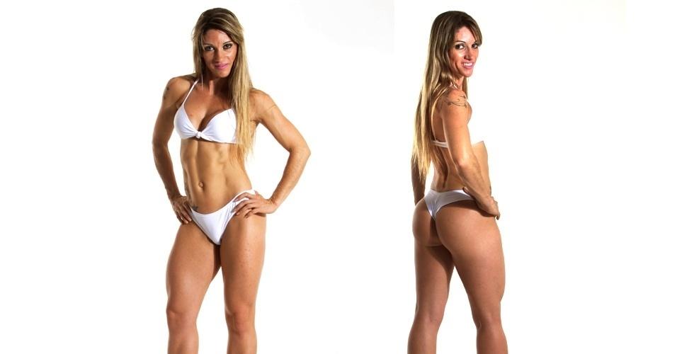 19.mar.2013 - Esta é Patrícia, 34 anos, personal trainer