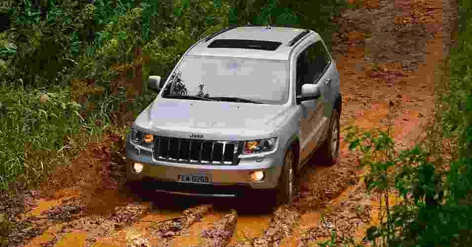 Jeep Grand Cherokee CRD - Divulgação
