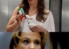 Buemba! Claudia Raia usa suco de maçã AdeS na seringa! - Reprodução