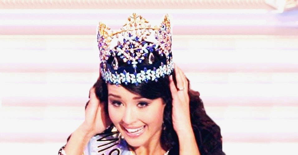 A islandesa Unnur Birna venceu o Miss Mundo 2005, realizado em Sanya, na China