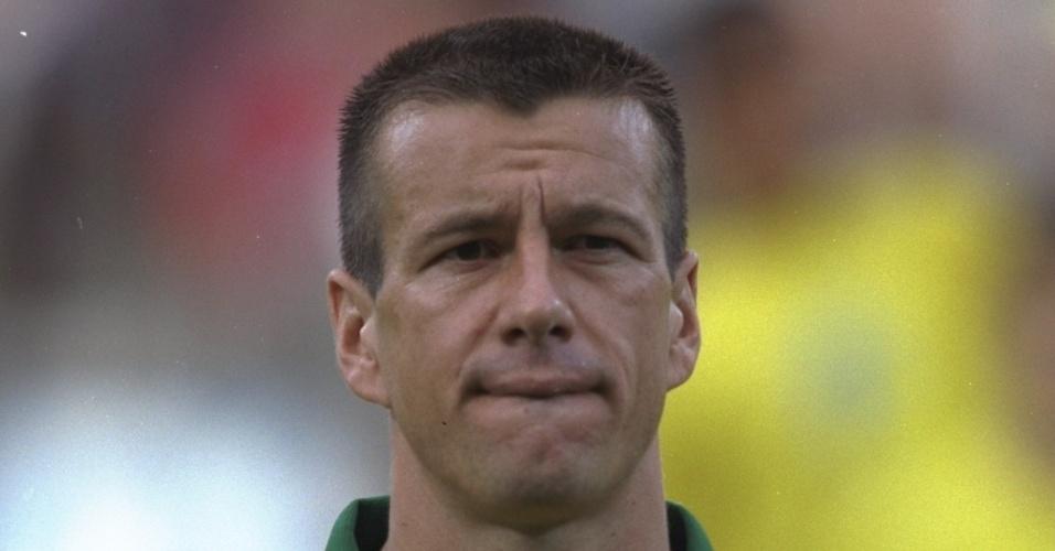 Dunga já era o capitão da seleção no Torneio da França, e jogou todos os minutos da competição