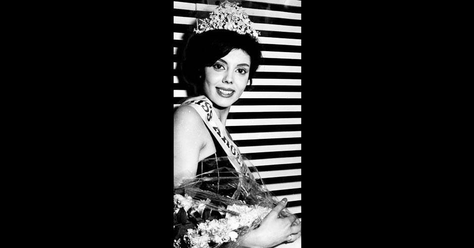 A argentina Norma Gladys Cappagli venceu o Miss Mundo 1960, realizado em Londres, no Reino Unido