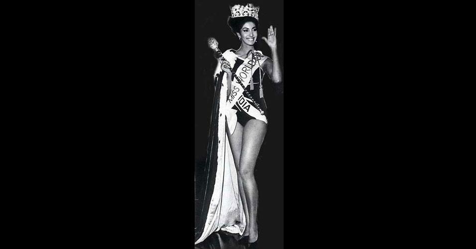 A indiana Reita Faria venceu o Miss Mundo 1966, realizado em Londres, no Reino Unido