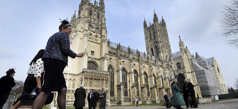 A Catedral de Canterbury, na Inglaterra, um dos grandes marcos históricos da Igreja Anglicana - Andy Rain/EFE