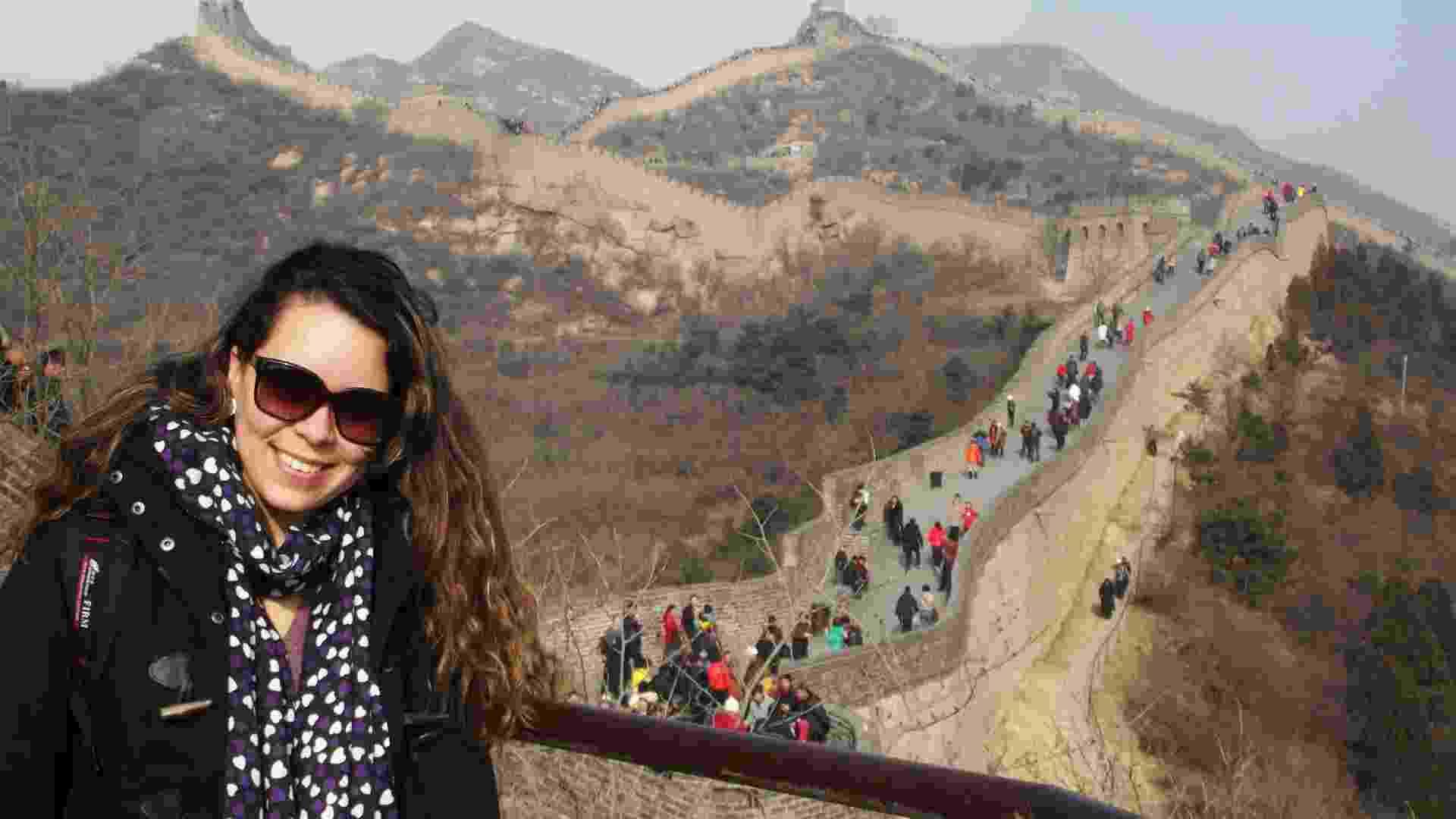 Ariadne Nardeli, 24, fez intercâmbio social em Xangai, na China, entre dezembro de 2011 E fevereiro de 2012, na área de sustentabilidade. Ela é gerente de desenvolvimento de negócios da Aiesec, organização que envia jovens estudantes para intercâmbios sociais e profissionais no exterior. Ariadne estuda e está no 4° ano de Relações Internacionais na Universidade Anhembi Morumbi. - Acervo Pessoal
