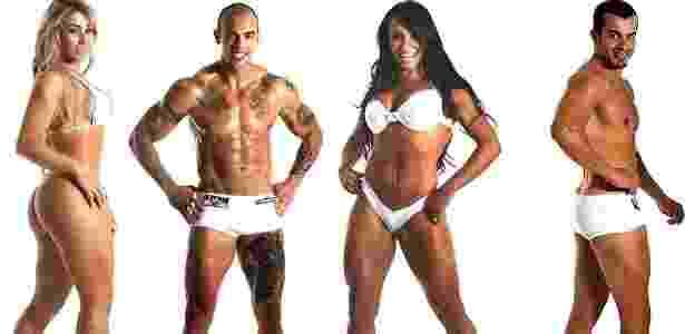 Montagem UOL/Enio Tosta/Fitness Model Agency