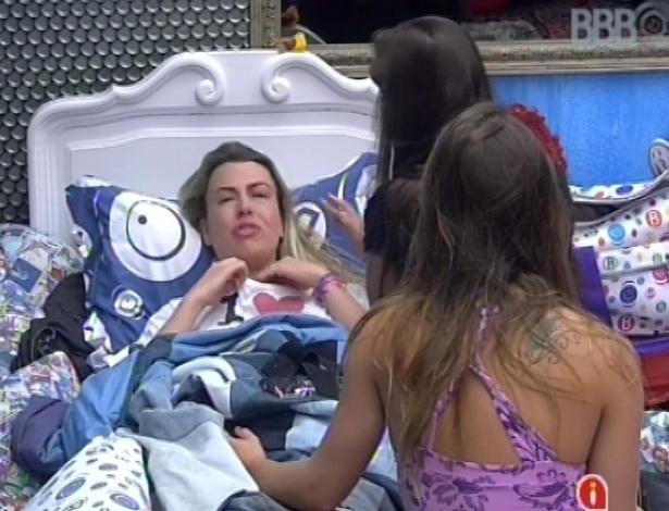 22.mar.2013 - Fernanda tem crise de choro após prova de resistência