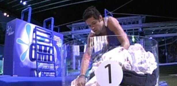 Nasser é primeiro a participar da segunda etapa da prova de liderança