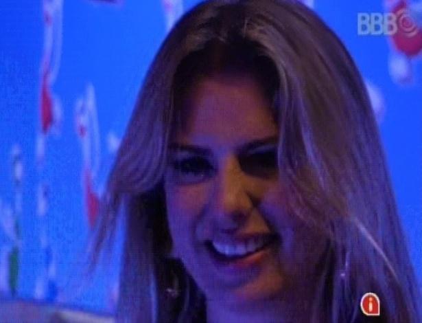 23.mar.2013 - Fernanda aproveita a última festa do