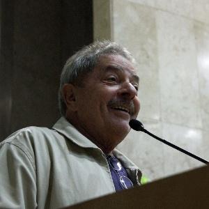 Ex-presidente Lula durante comemoração de 92 anos do partido PCdoB na Câmara Municipal de São Paulo - Nico Nemer/Futura Press