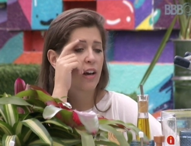 "25.mar.2013 - Finalistas relembram as discussões que ocorreram no ""BBB13"""