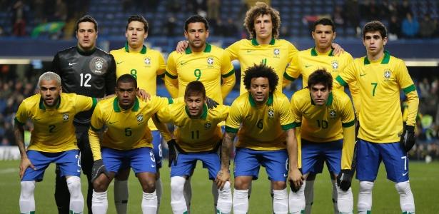 Titulares da seleção brasileira