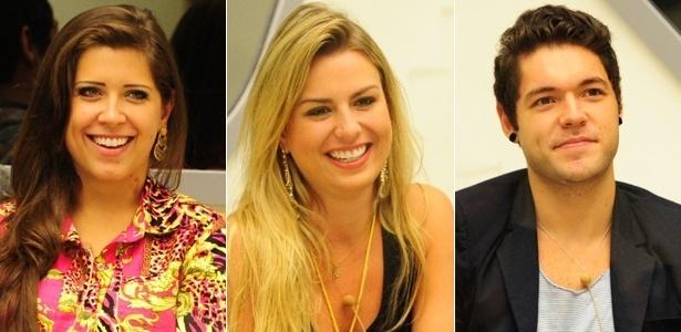 Andressa, Fernanda e Nasser disputam prêmio de R$ 1,5 milhão