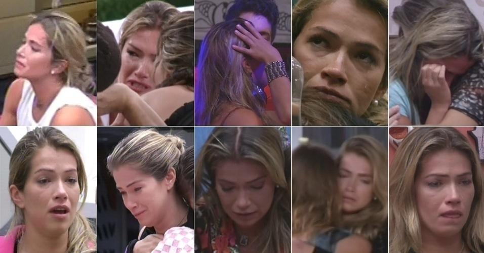 """Fani chorou dez vezes no """"BBB13"""""""