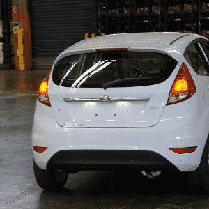Ford New Fiesta 2014 começa a ser produzido em São Bernardo do Campo (SP) - Eugênio Augusto Brito/UOL
