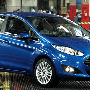 Ford New Fiesta 2014 começa a ser produzido em São Bernardo do Campo (SP) - Thales Stadler/Abcdigipress