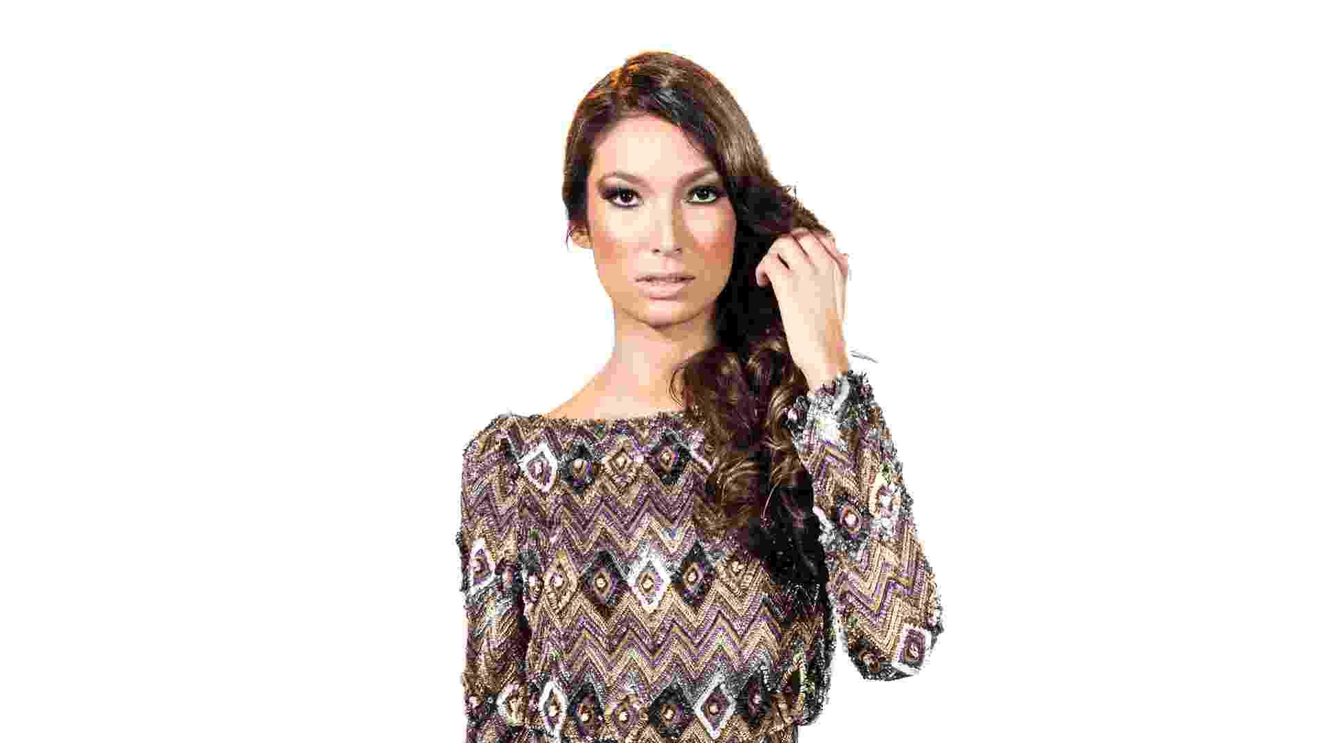 Imagem de vestido para madrinha de outono; da Trinitá (www.trinita.com.br), a partir de R$ 1.500. Disponibilidade e preço pesquisados em março de 2013 e sujeito a alterações - Divulgação/Trinitá