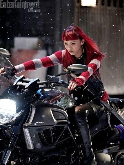 Rila Fukushima como a nova personagem Yuko em nova foto de
