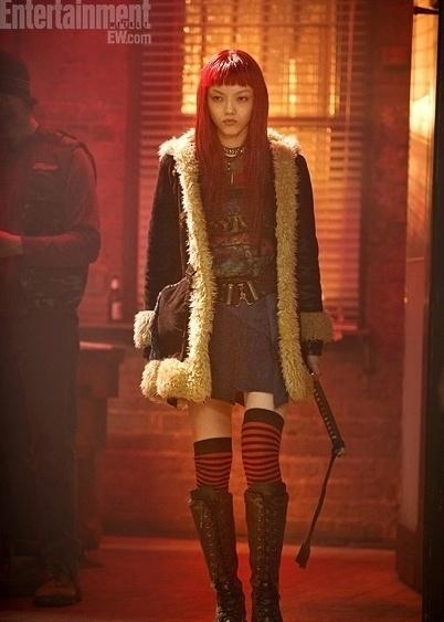 Rila Fukushima como a nova personagem Yuko em