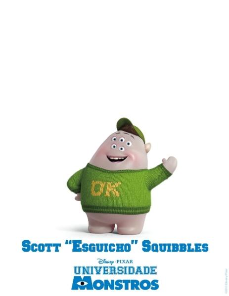 """26.mar.2013 - A Disney Pixar divulgou novo pôster do filme """"Universidade Monstros"""". A animação estreia dia 21 de junho nos Estados Unidos"""